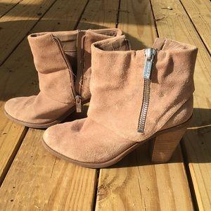 Jessica Simpson tan booties